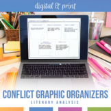 Conflict Graphic Organizers for Any Novel or Short Story