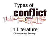 Conflict In Literature Display