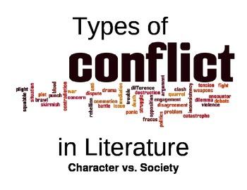 Conflict In Literature Display