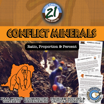 Conflict Minerals -- International Percent Change Infographic Project