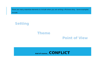 Conflict PowerPoint Lesson