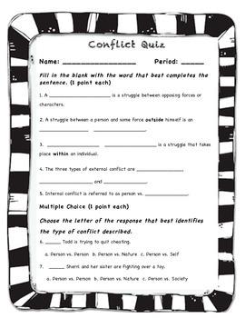 Conflict Quiz