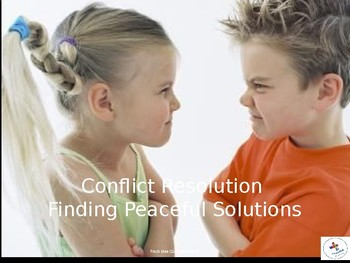 Conflict Resolution: Big and small problems