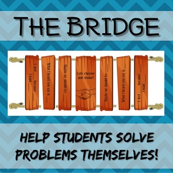 Conflict Resolution Bridge - A visual guide to help studen