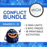 Conflict Resolution Middle School Bundle | Prezis & Printable Activities