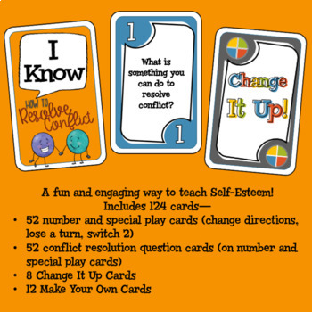 Conflict Resolution Card Game