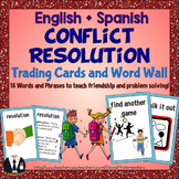 Conflict Resolution Cards and Word Wall