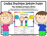 Conflict Resolution Dialogue Poster and Prompts
