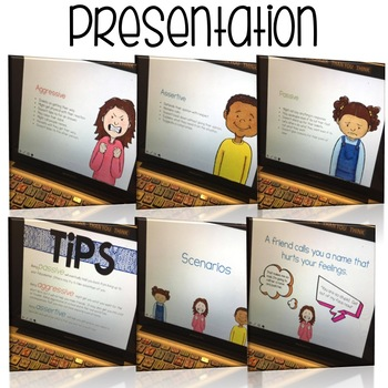 Conflict Resolution Flipbook and Presentation