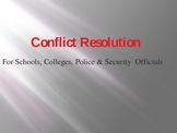 Conflict Resolution For Schools