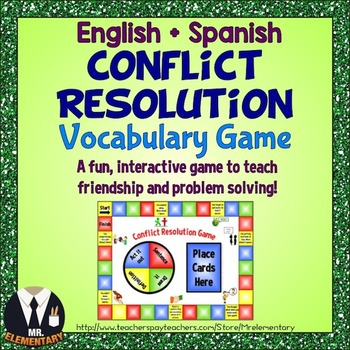 Conflict Resolution Game