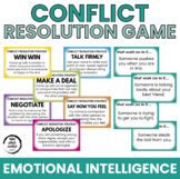 Conflict Resolution Game - Resolution Strategies and Situations