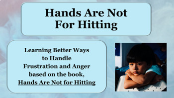 Conflict Resolution Hands Not for Hitting Lesson w 7 video links PBIS Bullying