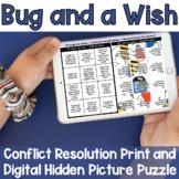 Conflict Resolution Social Skills Script Hidden Picture Puzzle Digital Game