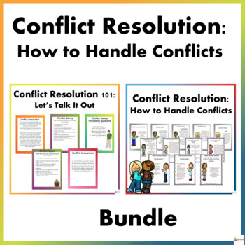 Conflict Resolution Bundle: How to Handle Conflicts