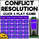 Conflict Resolution Jeopardy (Social Skills, Friendship &