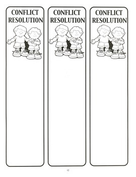 Conflict Resolution Lesson Plan