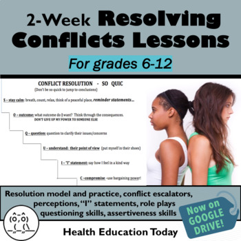 Conflict Resolution Lessons: Get These 15 Creative Lessons!