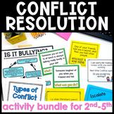 Conflict Resolution Lesson Plan Resources Bundle