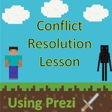 Conflict Resolution Mine Craft Inspired School Counseling Lesson