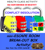 Conflict Resolution Escape Room - Break Out Box