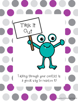 Conflict Resolution Monsters