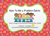 Conflict Resolution Picture Cards