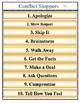 Conflict Resolution Poster PDF File- Conflict Starters & Conflict Stoppers
