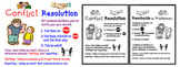 Conflict Resolution Poster PDF & SMARTBOARD (English & Spanish)