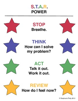 Conflict Resolution Poster - S.T.A.R. Power (Poster 2)