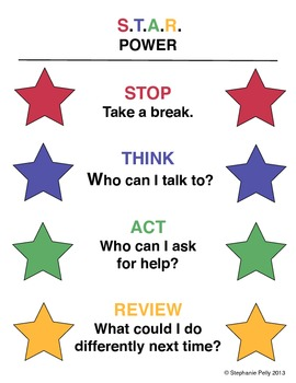 Conflict Resolution Poster - S.T.A.R. Power (Poster 3)