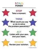 Conflict Resolution Poster - S.T.A.R. Power (Poster 4)
