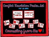 Conflict Resolution Poster Set by Counseling from the Heart
