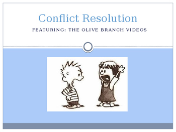 Conflict Resolution Powerpoint-Olive Branch