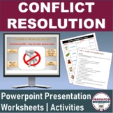 Conflict Resolution Powerpoint and Worksheets for Business