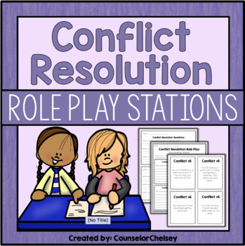 Conflict Resolution Role Play Activities