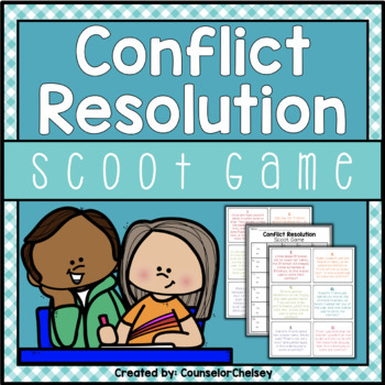 Conflict Resolution Scoot Game