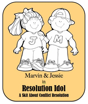 Character Education Skit - Conflict Resolution - Resolution Idol
