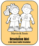 Character Education Skit - Conflict Resolution 2 - Resolution Idol