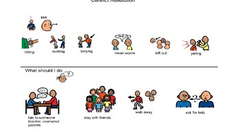 Conflict Resolution Social Story