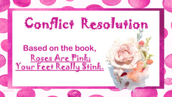 "Conflict Resolution Valentine's Day ""Roses Are Pink Your F"