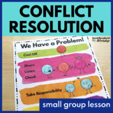 Conflict Resolution Activities and Lesson with Classroom Visuals