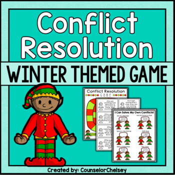 Conflict Resolution Game - Winter Themed