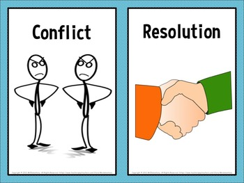 Conflict Resolution Word Wall