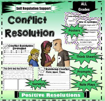 Conflict Resolution Worksheets