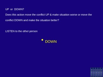 Conflict Social Skills Anger Management Game Editable FREEBIE