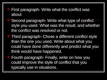 Conflict Speech