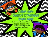 Conflict Strategies- Super Heroes Conflict Strategies Board Game