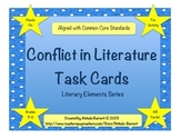 Conflict Task Cards - Common Core Aligned