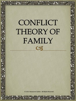 Conflict Theory of Family